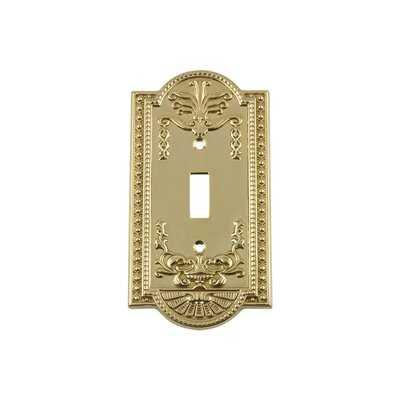 Meadows 1-Gang Toggle Light Switch Wall Plate - Wayfair