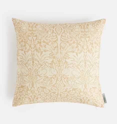William Morris Brer Rabbit Pillow Cover - Rejuvenation