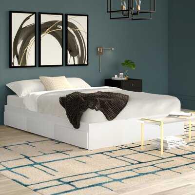 Massie Storage Platform Bed - Wayfair