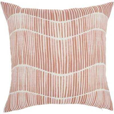 Lieberman Printed Stripes Indoor/Outdoor Throw Pillow - AllModern