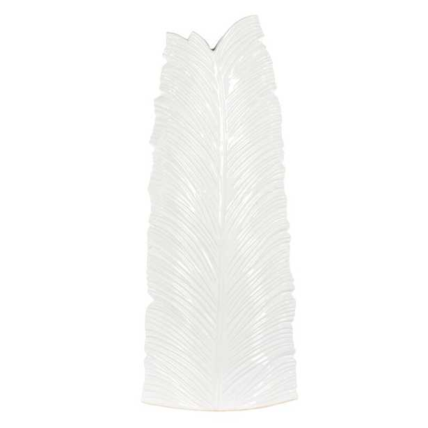 Bradburn Home Leaf Floor Vase Size: Large - Perigold