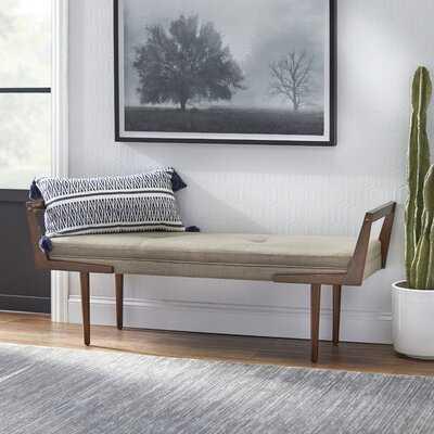 Stewartville Upholstered Bench - Wayfair