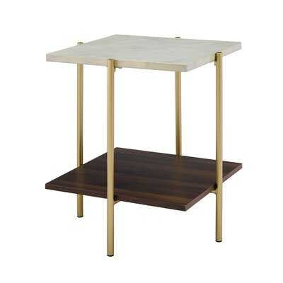 Carillo End Table with Storage - Wayfair
