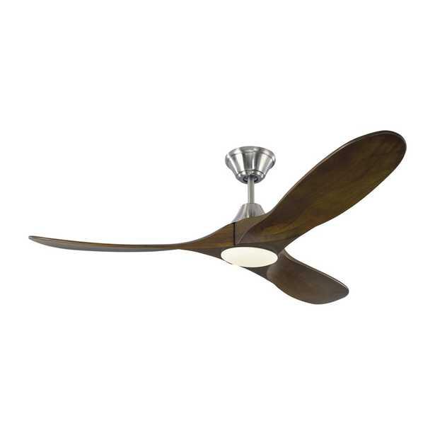 """Monte Carlo Fan Company 52"""" Maverick 3 - Blade LED Standard Ceiling Fan with Light Kit Included"" - Perigold"
