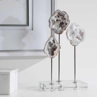 Gwion Natural Stone Sculpture - Wayfair