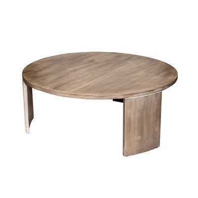 Crown Heights Solid Wood 3 Legs Coffee Table - Wayfair