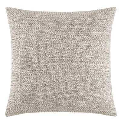Kenneth Cole New York Marled Knit Beige Throw Pillow - Wayfair