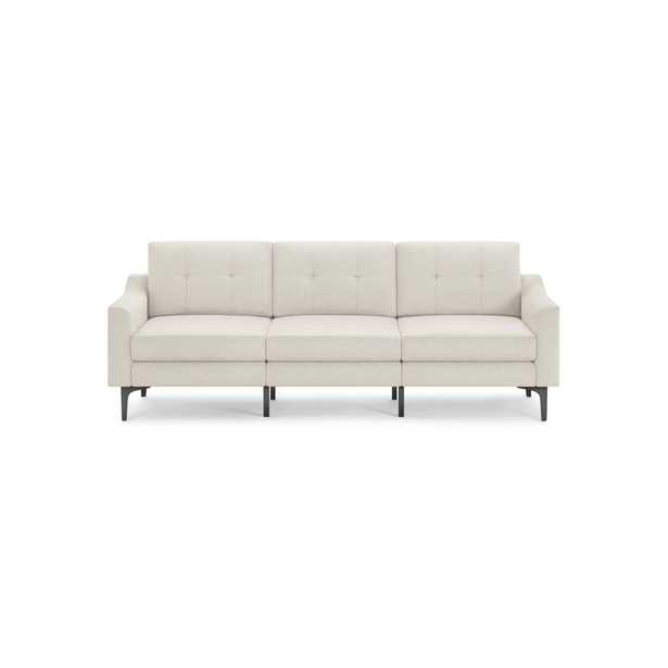The Slope Nomad Sofa in Ivory - Burrow