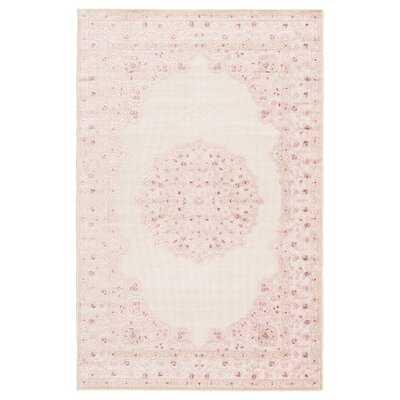 Mcculloch Oriental Pink/White Area Rug - Wayfair