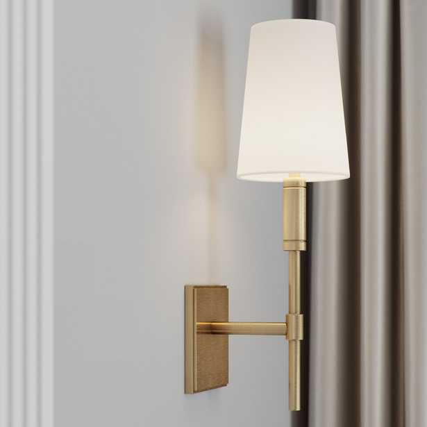"""""""TOB by Thomas O'Brien by Generation Lighting Beckham 1 - Light Dimmable Wallchiere"""" - Perigold"""