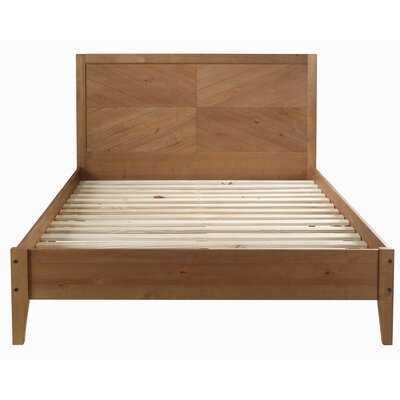 Steve Solid Wood Queen Platform Bed - AllModern