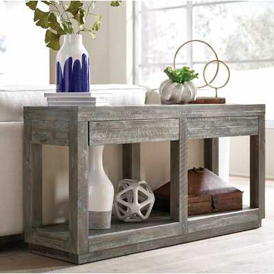 """Roberge 60"""" Solid Wood Console Table - Wayfair"""