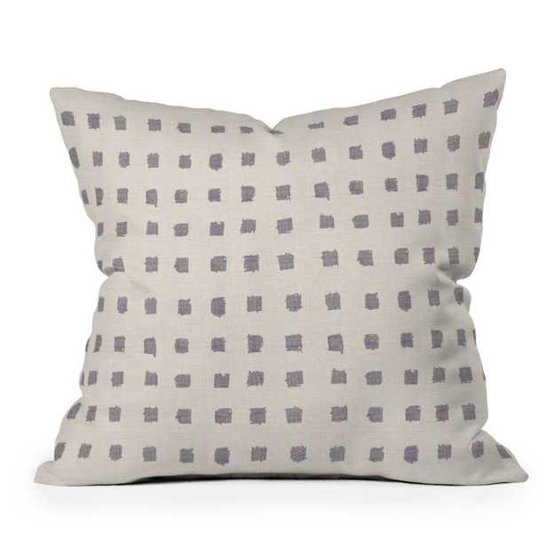 """Earthen Dot by Holli Zollinger - Outdoor Throw Pillow 20"""" x 20"""" - Wander Print Co."""
