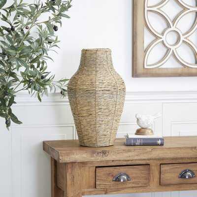 Boehm Brown Metal Table Vase Set - Wayfair