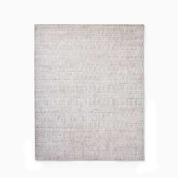 Shino Rug, 8'x10', Frost Gray - West Elm