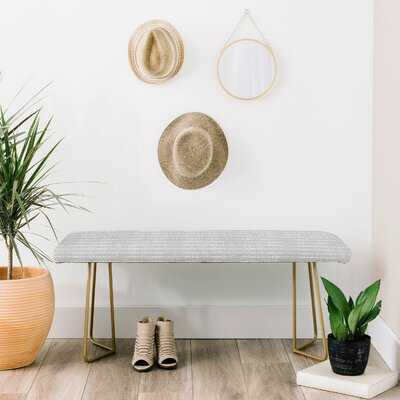 Holli Upholstered Bench - Wayfair