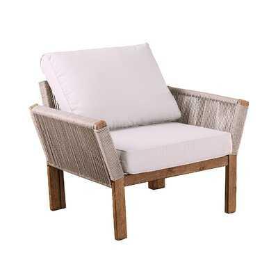 Brendina Patio Chair with Cushions - AllModern