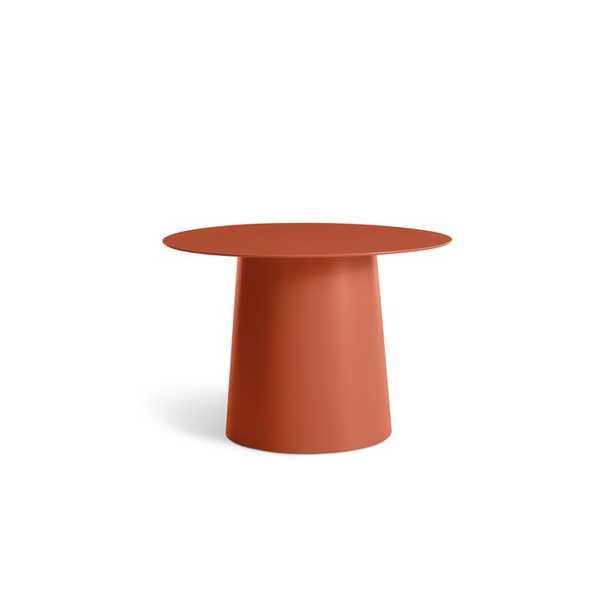 Blu Dot Circula Low Side Table Color: Tomato - Perigold