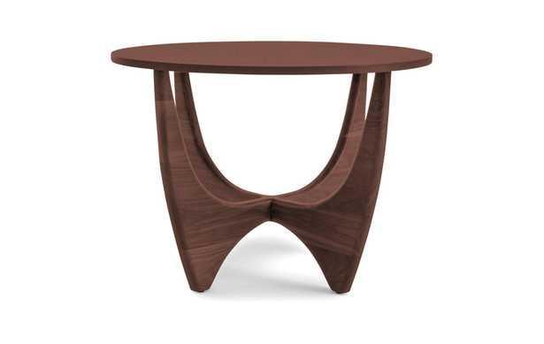 Stern Mid Century Modern (Wood Top) End Table - Walnut - Joybird