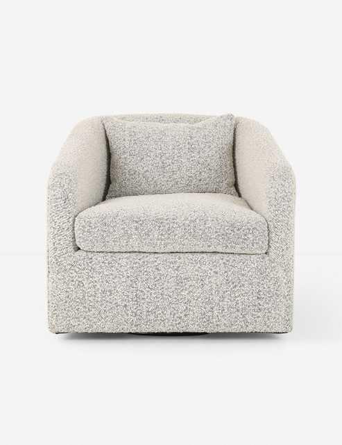 Ren Swivel Chair, Knoll Domino - Lulu and Georgia