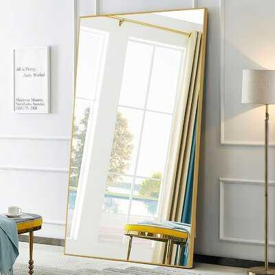 Framed Full Length Oversized Mirror - Wayfair