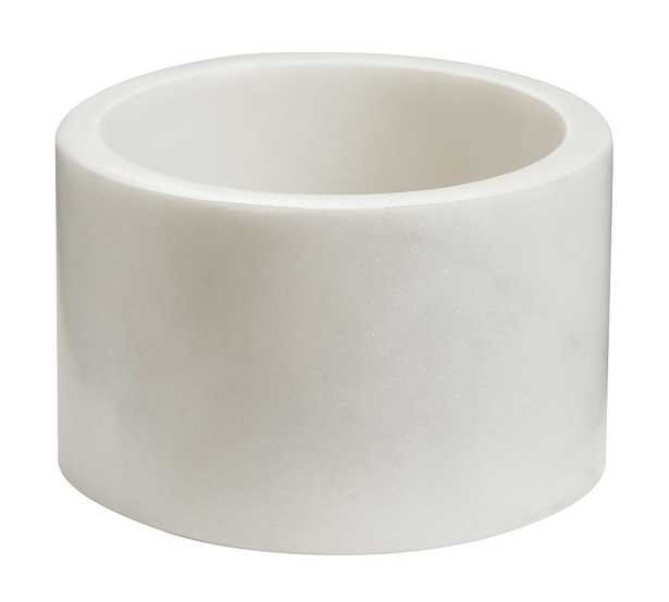 Marble Desk Accessory, Low Bowl - Pottery Barn