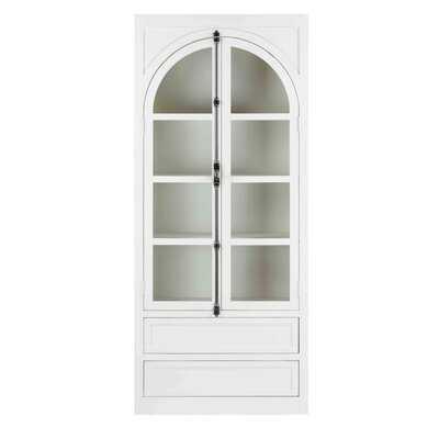 Wood Curio Cabinet - Wayfair