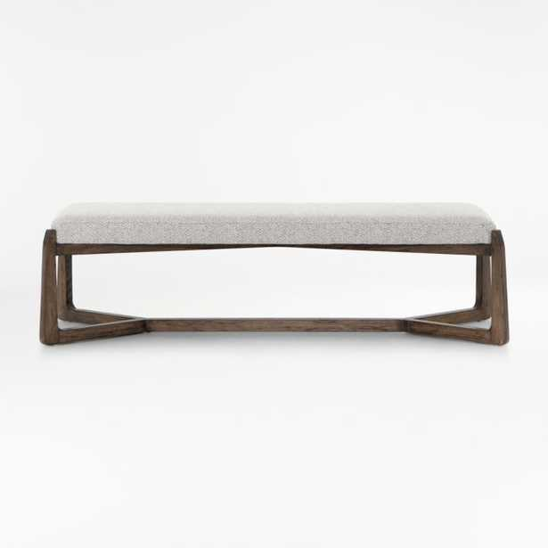 Amna Bench - Crate and Barrel