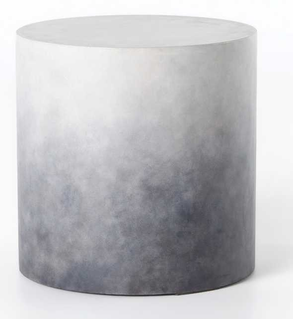 Pira Indoor/Outdoor End Table, Gray - Lulu and Georgia