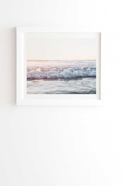Sun Kissed by Bree Madden - Framed Wall Art Basic White 16 x 16 - Wander Print Co.