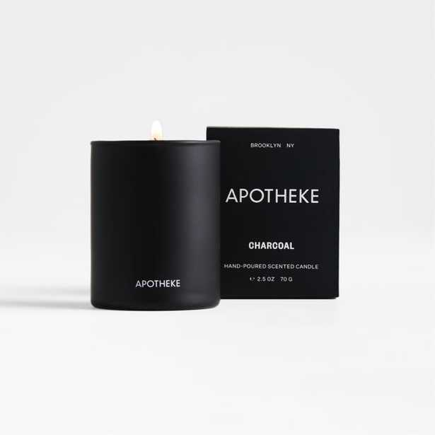 Apotheke Charcoal-Scented Votive Candle - Crate and Barrel