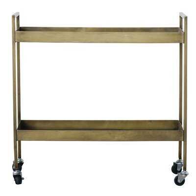 Carleen 2-Tier Bar Cart - AllModern