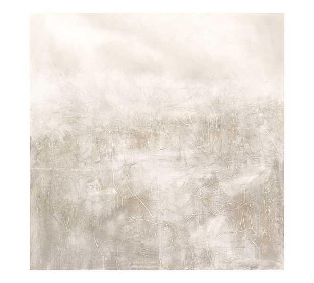 Textured Alpine Haze, Neutral, 50x50 - Pottery Barn