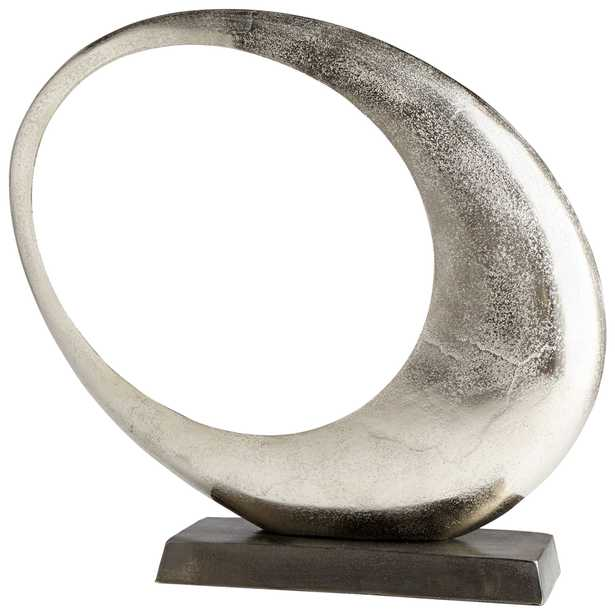 Large Clearly Through Sculpture - Onyx Rowe