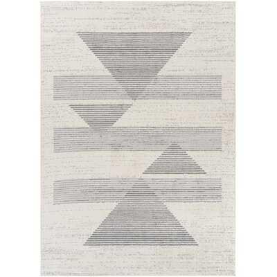 Oreilly Geometric Gray Area Rug - Wayfair