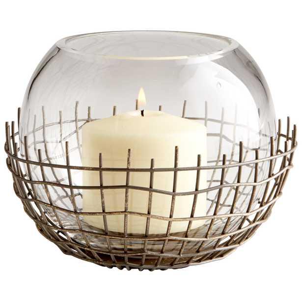 Medium Silk Candleholder - Onyx Rowe