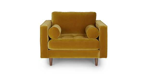 Sven Yarrow Gold Chair - Article