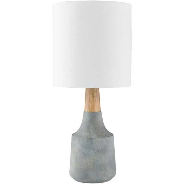 Artistic Weavers Layla 17.5 in. Gray Indoor Table Lamp - Home Depot