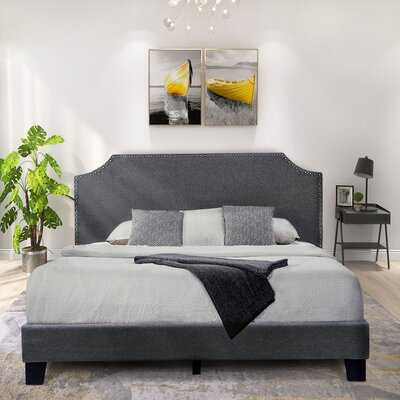 Benett King Upholstered Low Profile Platform Bed - Wayfair