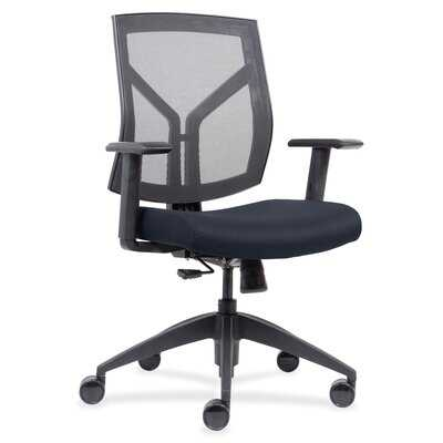 Lorell Mid-Back Chairs With Mesh Back & Fabric Seat - Wayfair