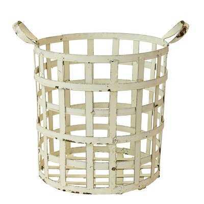 """Sill """"X"""" Metal Basket - Birch Lane"""