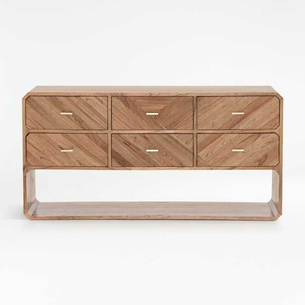 Rove 6-Drawer Dresser - Crate and Barrel