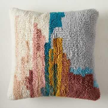 """Fieldscape Pillow Cover, 20""""x20"""", Multi, Set of 2 - West Elm"""