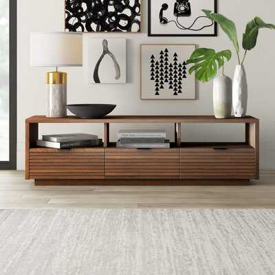 """Posner TV Stand for TVs up to 78"""" - Wayfair"""