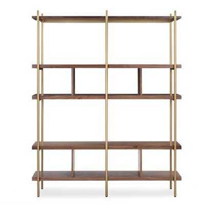 Deepraj Library Bookcase - Wayfair