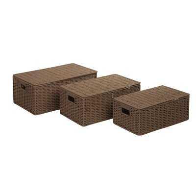 Backman Piece Wicker Box Set - Birch Lane