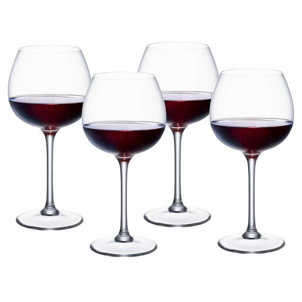 Villeroy & Boch Purismo 16 oz. Crystal All Purpose Wine Glass - Perigold