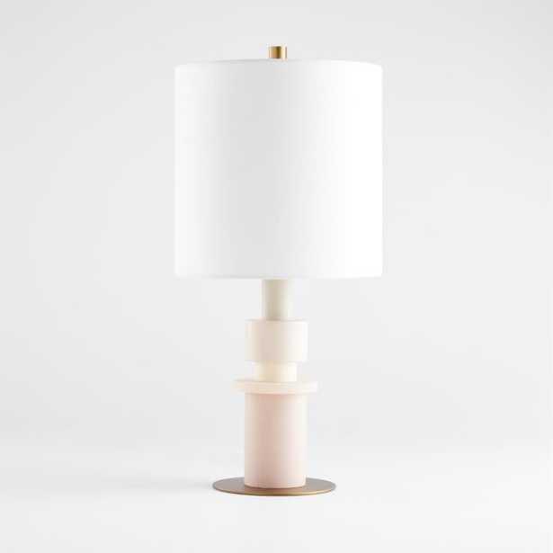 Berkley Pink Table Lamp - Crate and Barrel