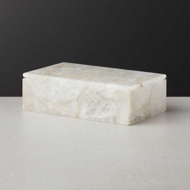 Celeste Quartz Box Medium - CB2