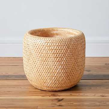 Honeypot Woven Basket, Medium - West Elm